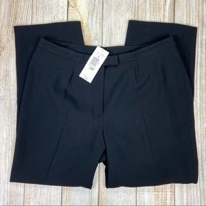 New PETER NYGARD Lined Black Crepe Essential Pants